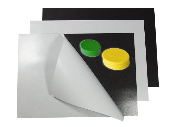 Fogli metallici bianco con adesivo formato a1 a4 0 6mm for Foglio metallico