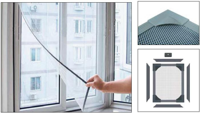nastro magnetico adesivo per zanzariere 1 5mm x 25 4mm x 10m set di tipo a e b nastro adesivo. Black Bedroom Furniture Sets. Home Design Ideas